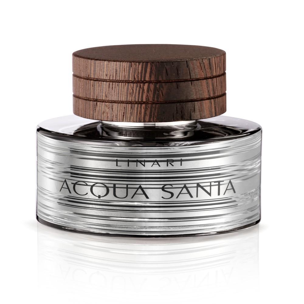 AQUA SANTA by LINARI 5ml TRAVEL SPRAY Perfume CEDAR BERGAMOTE CITRUS MUSK