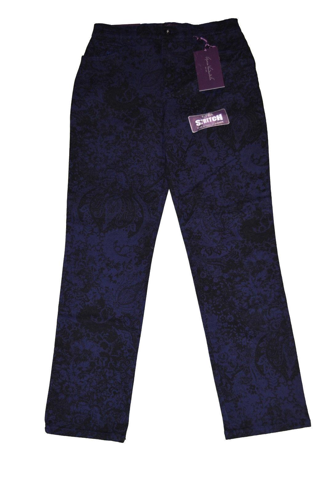 Women's Gloria Vanderbilt Amanda Classic Fit Tapered Leg Pants Sizes 8, 10, 14