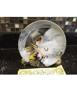 """DONALD ZOLAN COLLECTOR PLATE ~ """"Touching the Sky"""" 8-1/2 Inch ~ MINT w/ COA! - $16.99"""