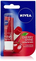 Nivea Lip Care Fruity Shine Cherry, 4.8g Free Shipping - $9.10