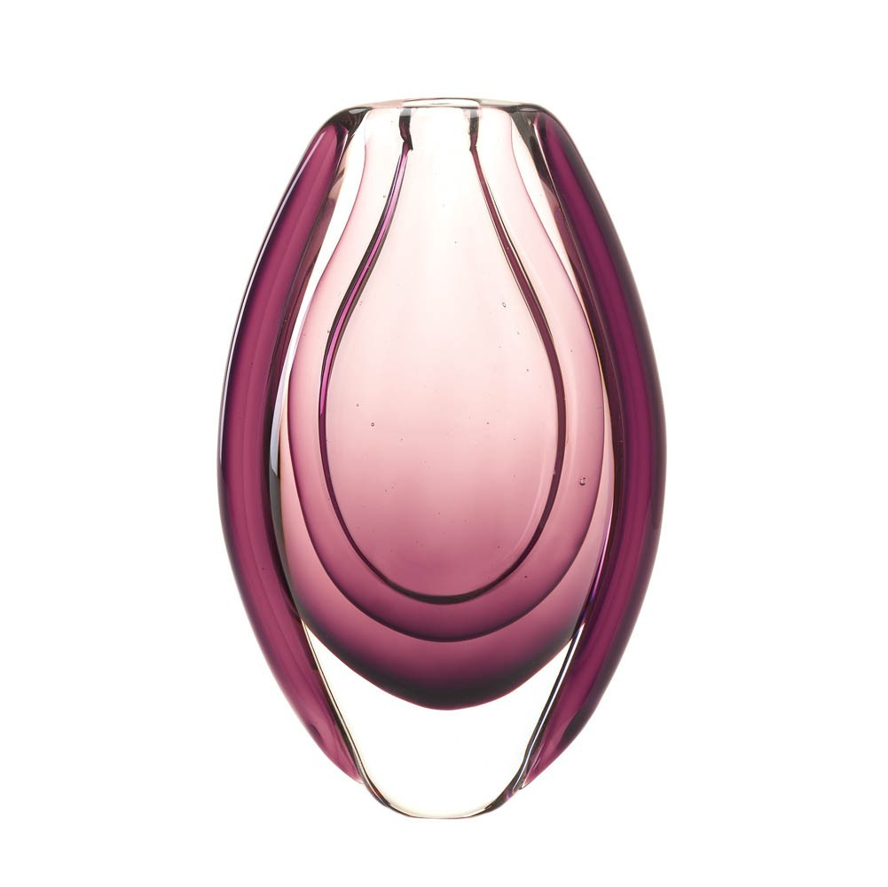 Primary image for WILD ORCHARD ART GLASS VASE