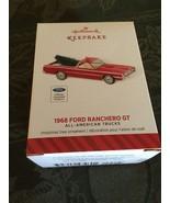 NIB Hallmark 2014 1968 Ford Ranchero PU  Ornament #20 American Trucks Xm... - $19.99