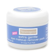 Neutrogena Extra Gentle Eye Makeup Remover Pads 30 ea [Health and Beauty] - $16.14