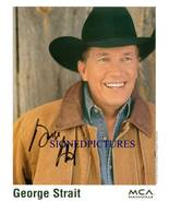 GEORGE STRAIT AUTOGRAPHED 8x10 RP PROMO PHOTO PURE COUNTRY STAR - $14.99