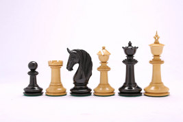 CB Blackburne (Joseph Henry) Edition Chess Set in Ebony & Box Wood VJ048 - $602.99