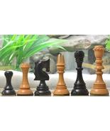 """Reproduced Historic 1929 Barcelona """"Joc Catalan"""" Chess Set in Ebony Wood... - $378.99"""