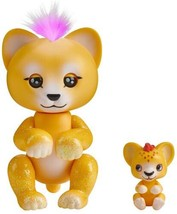 Fingerlings Light Up Baby Lion and Mini Sam and Leo Interactive Toy Hard... - $24.90