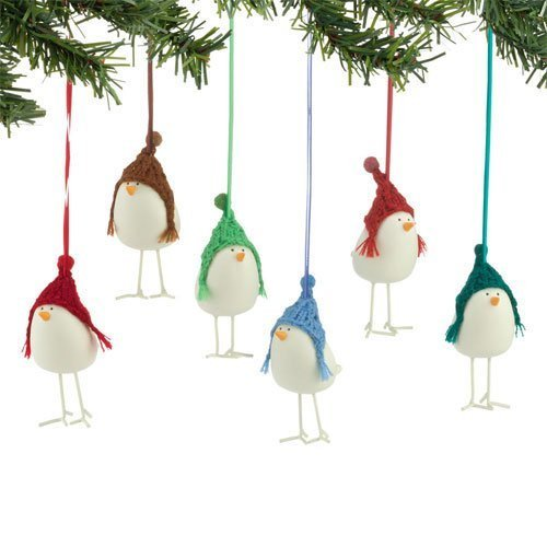 Department 56 Knit Wit Bird on a Wire - 6 Assorted