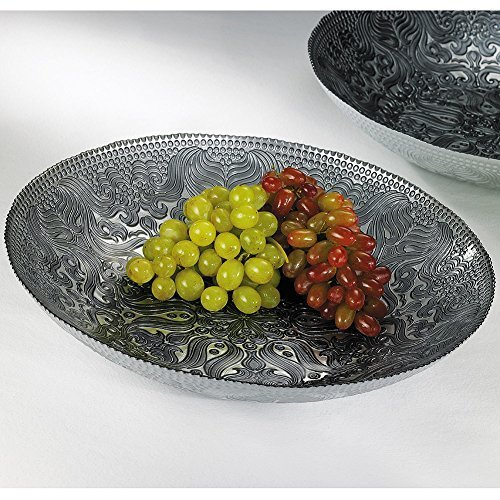 Smithsonian Arabesque Glass Serving Bowl