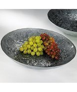 Smithsonian Arabesque Glass Serving Bowl - £34.34 GBP