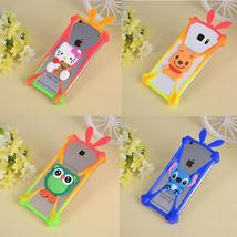 Cartoon Animals Soft Silicone Cover Bumper For LG Optimus L7 P705 L7 II ... - $12.82