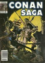 Conan Saga 25 Marvel Comic Book Magazine May 1989 - $1.99