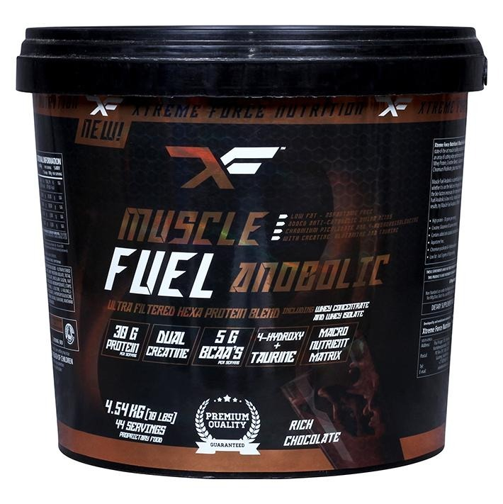 Xtreme Force Muscle Fuel Anabolic XF, 10 lb Chocolate