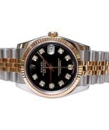 Diamond dial rolex men date just watch jubilee ... - $3,724.36