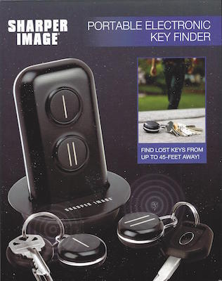Sharper Image Portable Electronic Key Finder And 31 Similar Items