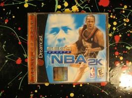 NBA 2K NBA2K Sega Dreamcast 1999 Basketball Sports Game - $12.25