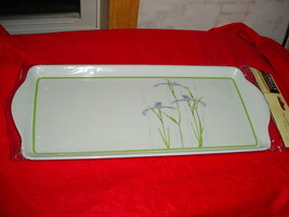 Corelle Shadow Iris Tidbit Serving Tray Brand New In Package Free Usa Shipping - $18.69