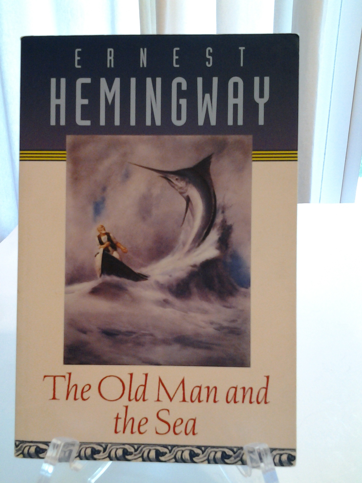 external nature and dignity in the old man and the sea by ernest hemingway Review of the book the old man and the sea, by ernest hemingway of eating him from the manner of his behaviour and his great dignity but the old man.