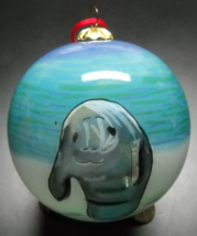 Windward Collection Christmas Ornament Manatees Homosassa Springs Park B... - $9.99
