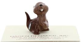 Hagen-Renaker Miniature Ceramic Figurine Chipmunk Baby image 3