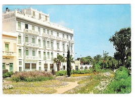 Gabes Tunisia Hotel Atlantic Vintage Ismail Postcard 4X6 Stamps 1965 - $4.99