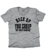 Hillary Clinton Back Up Creep Funny Shirt Cool Gift Idea Edgy V-Neck T S... - $7.99+