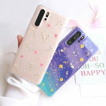 Phone Case For Huawei P40 Pro P30 P20 Lite Pro Mate Dried Real Flower Cover Back - $6.18+