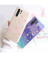 Phone Case For Huawei P40 Pro P30 P20 Lite Pro Mate Dried Real Flower Co... - $6.18+