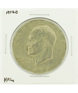 1974-D Eisenhower Dollar RATING: (F) Fine N2-3643-07 - $3.00