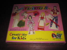 Dollmaking Series Paper Dolls Plus  -  Creativity for Kids New in Box - $12.38