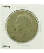 1974-D Eisenhower Dollar RATING: (F) Fine N2-3643-17 - $3.00