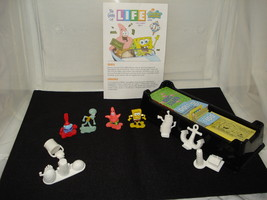 Spongebob Squarepants Game of Life Edition Character Pawns & Game Pieces Manual - $14.00