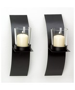 MOD-ART CANDLE SCONCE DUO - $17.05