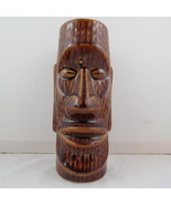 Vintage Orchids of Hawaii Tiki Mug - Easter Island Face - Made in Japan  - $45.00