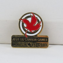 Juex Canada Winter Games Pin - 2007 Whitehorse Yukon - Government of Can... - $15.00
