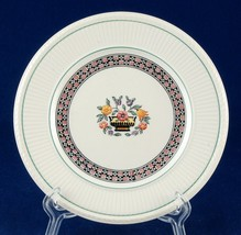 Wedgwood EDME Trentham - Red A6770 Bread Plate Etruria England - $5.00