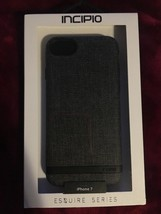 Incipio - Esquire Series for Apple iPhone 7  - Co-Mold - Grey NEW - $15.56