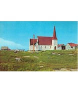 Canada, St. John's Anglican Church, Peggy's Cove, Nova Scotia, unused Po... - $5.99