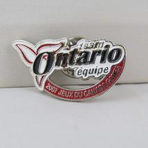 Juex Canada Winter Games Pin - 2007 Whitehorse Yukon - Team New Ontario ... - $10.00