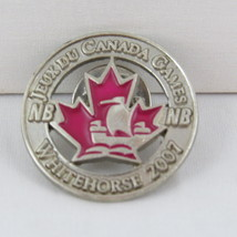 Juex Canada Winter Games Pin - 2007 Whitehorse Yukon - Team New Brunswick - $15.00