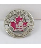 Juex Canada Winter Games Pin - 2007 Whitehorse Yukon - Team New Brunswick - $15.00