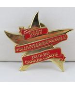 Juex Canada Winter Games Pin - 2007 Whitehorse Yukon - Volunteer Pin - $15.00