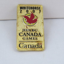 Juex Canada Winter Games Pin - 2007 Whitehorse Yukon - Government of Canada - $12.00
