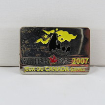 Juex Canada Winter Games Pin - 2007 Whitehorse Yukon - Event Pin - $10.00