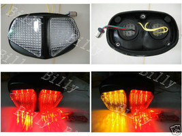 Taillight Turn Signals Honda VTR 1000 1997-2005 LED Smoke MT-193 Clear