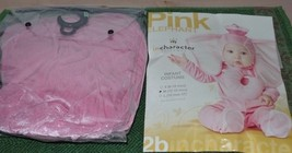 Pink Elephant Infant Costume SZ M 12 to 18 Months incharacter NEW - €13,43 EUR