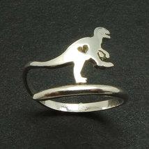 925 Jurassic World Velociraptor Dinosaur Ring in Silver Size 7 8 9 Dino - $30.00