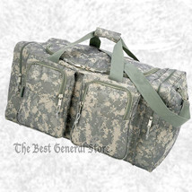 """Digital Camo 25"""" Water-Repellent Heavy-Duty Tote Bag Duffle Carry On Gym... - $36.85"""