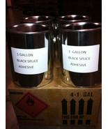 5 CASES 4 - 1 GALLON  PAILS/CASE 20 PAILS BLACK SPLICE ADHESIVE FOR EPDM... - $1,065.04