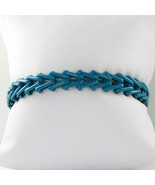 Alex & Ani Gypsy 66 Turquoise Wrap Expandable Bracelet Russian Silver Ta... - €41,11 EUR